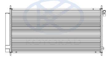 Радиатор кондиционера (koyo)